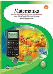 Buku Matematika Kelompok Seni, Pariwisata, dan Teknologi Kerumahtanggaan
