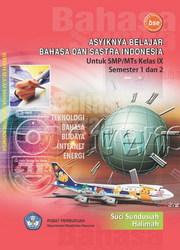Buku Asyiknya Belajar Bahasa dan Sastra Indonesia 3