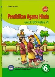Buku Pendidikan Agama Hindu untuk SD Kelas VI