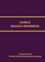 Buku KAMUS BAHASA INDONESIA