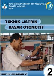 Buku Teknik Listrik Dasar otomotif Kelas 10 SMK
