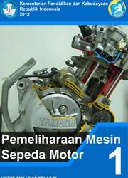 Buku Pemeliharaan Mesin Sepeda Motor Kelas 11 SMK