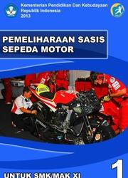 Buku Pemeliharaan Sasis Sepeda Motor Kelas 11 SMK