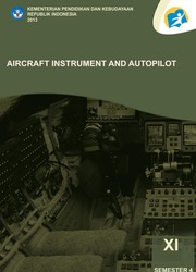 Buku Aircraft Instrument and Autopilot