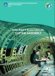 Buku Aircraft Electrical System Assembly Kelas 11 SMK