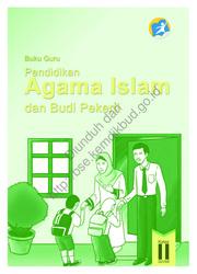 Buku Pendidikan Agama Islam dan Buku Pekerti Luhur (Buku Guru)