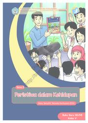 Buku Peristiwa dalam Kehidupan (Buku Guru)