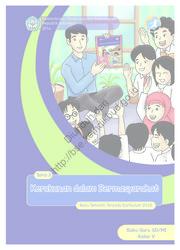 Buku Kerukunan dalam Bermasyarakat (Buku Guru)