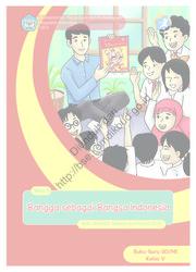 Buku Bangga sebagai Bangsa Indonesia (Buku Guru)