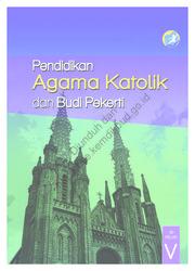 Buku Pendidikan Agama Katolik dan Buku Pekerti (Buku Siswa)