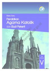 Buku Pendidikan Agama Katolik dan Buku Pekerti (Buku Guru)