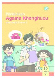 Buku Pendidikan Agama Konghuchu dan Buku Pekerti (Buku Siswa)