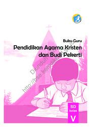 Buku Pendidikan Agama Kristen dan Buku Pekerti(Buku Guru)
