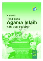 Buku Pendidikan Agama Islam dan Budi Pekerti (Buku Guru)