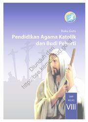 Buku Pendidikan Agama Katolik dan Budi Pekerti (Buku Guru)
