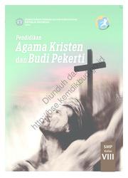 Buku Pendidikan Agama Kristen dan Budi Pekerti (Buku Guru)