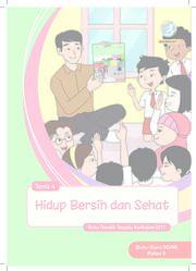 Buku Tema 4 Hidup Bersih dan Sehat - Buku Guru Kelas 2
