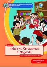 Buku Indahnya Keragaman di Negeriku - Tema 7 Buku Guru
