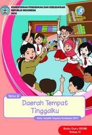 Buku Daerah Tempat Tinggalku - Tema 8 Buku Guru
