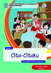 Cita-citaku - Tema 6 - Buku Guru Kelas 4 SD