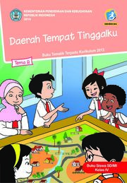 Daerah Tempat Tinggalku - Tema 8 Buku Siswa Kelas 4 SD
