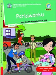 Buku Siswa - Tematik Terpadu SD/MI Kelas IV Tema 5; Pahlawanku