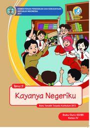 Buku Guru SD/MI Kelas IV Tema 9