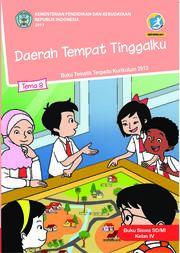 Buku Buku Siswa SD/MI Kelas IV Tema 8