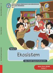 Buku Kelas 5 Tema 5 Ekosistem - Buku Guru