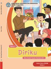 Buku Tematik Terpadu Kurikulum 2013 Untuk SD/MI Kelas I Tema 1