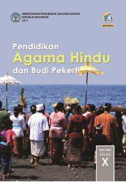 Buku Pendidikan Agama Hindu dan Budi Pekerti Buku Kelas X; buku siswa