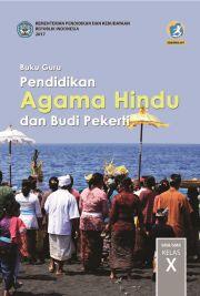 Buku Pendidikan Agama Hindu dan Budi Pekerti Buku Kelas x; buku guru