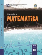 Buku Buku Guru - Matematika Kelas IX